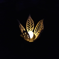Small Leaves lamp (LED tealight) 3D Printing 184151
