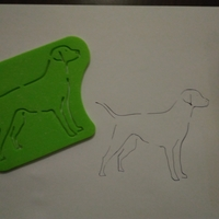 Small Dog coloring 3D Printing 184157