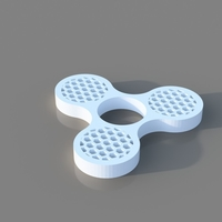 Small Honey Comb Fidget Spinner 3D Printing 184237