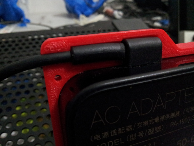 Asus Power Adapter Case 3D Print 184285