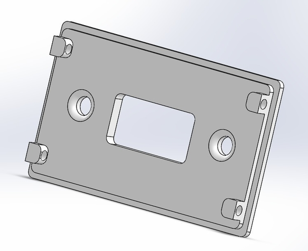 Thermostat LCD 2x16 Case 3D Print 184371