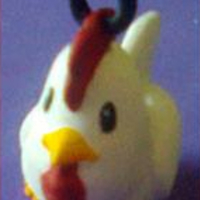 Small Cucco from Legend of Zelda 3D Printing 184491