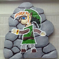 Small Zelda Link Beetwen World 3D Printing 184504