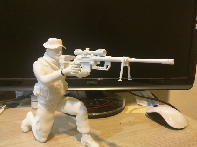 Captain Price -Call Of Duty 3D Print 184507