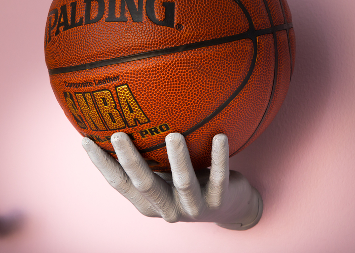 3d Printed Basketball Holder Hand By Isotalo Pinshape