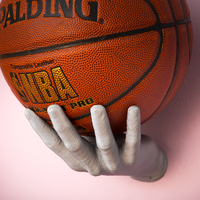 Small Basketball holder hand 3D Printing 184519