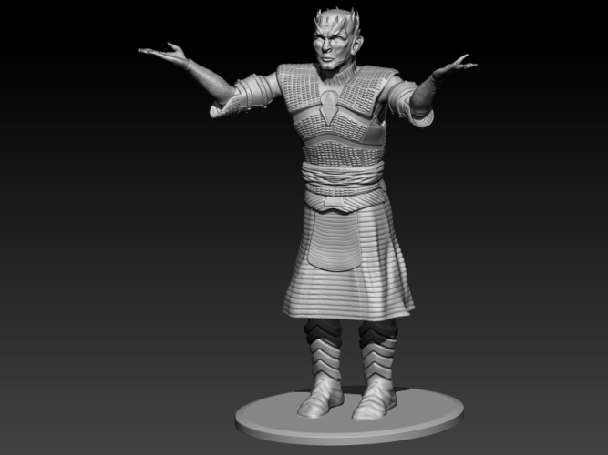 Night King standing 3D Print 184717