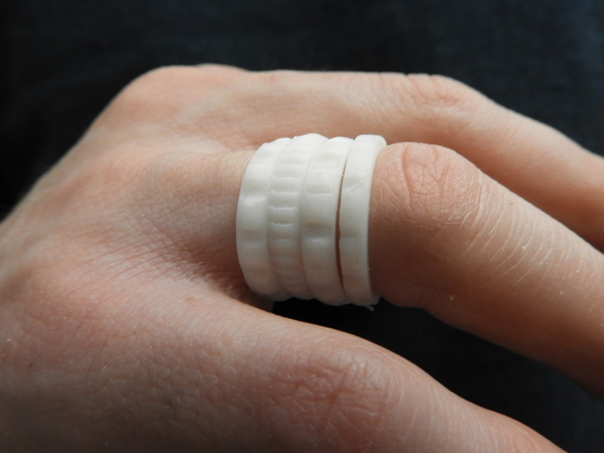 Beautiful Rings 3D Print 184792