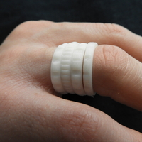 Small Beautiful Rings 3D Printing 184792