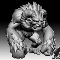 Small Rocket Pig Games Yeti 3D Printing 185070