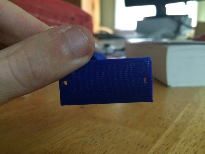 Sharp Sensor Bracket 3D Print 185300
