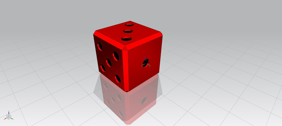 Loaded Dice 3D Print 18576