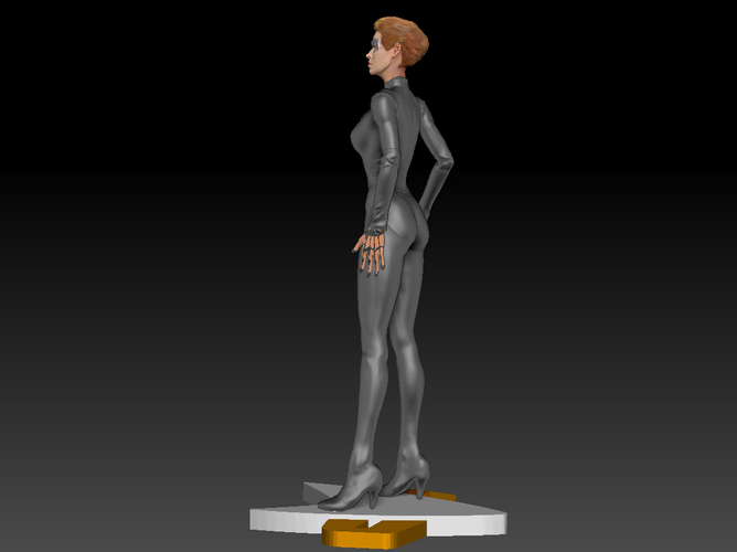 Star Trek Seven of Nine figurine. Jeri Ryan. 3D Print 185819