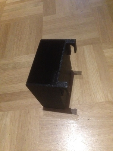 Skoda Yeti door pocket trashbin (or anythingelsebin) 3D Print 185865