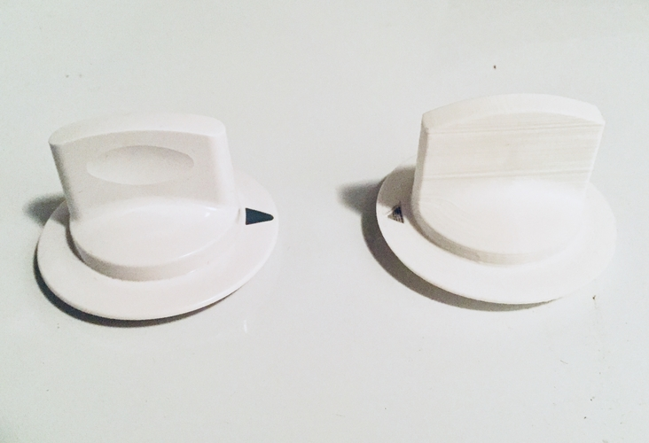 GE Dryer Knob 3D Print 185914