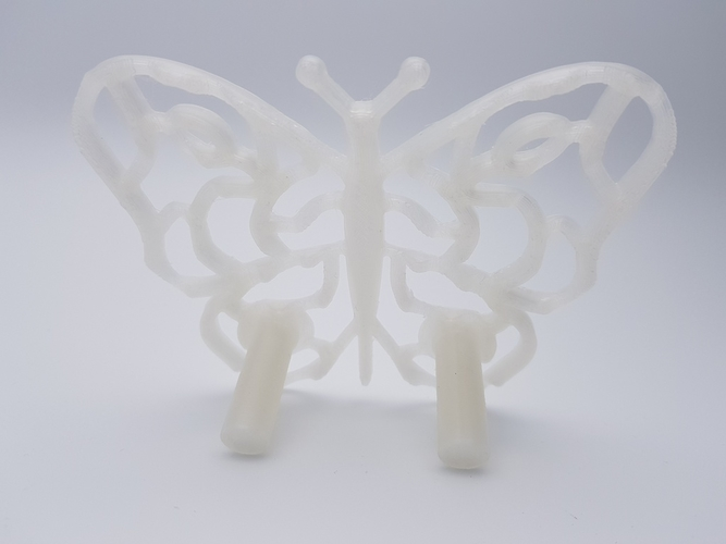 Butterfly Coasters - Multi Colour with one Nozzle! 3D Print 185954