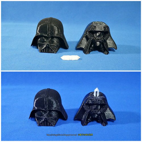 Rotatable and interchangeable heads-Star Wars - Darth Vader & Sn 3D Print 186064