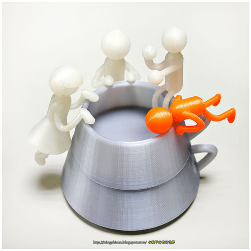 Creative tea sets 3D Print 186101