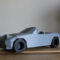 Small Low-Poly Mazda Miata 3D Printing 186171