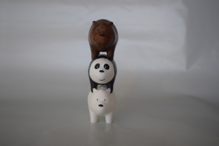 We bare Bears 3D Print 186235