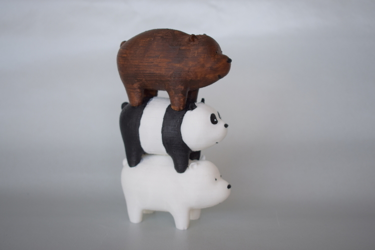We bare Bears 3D Print 186236