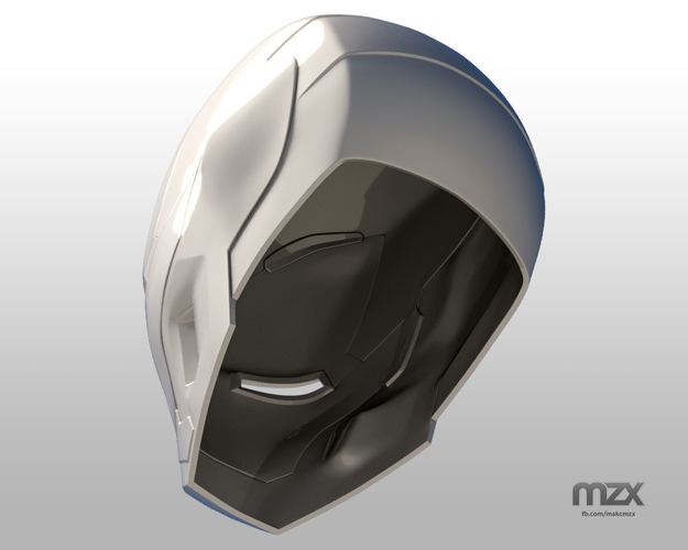 Iron Man Mark 50 Infinity War helmet 3D Print 186492