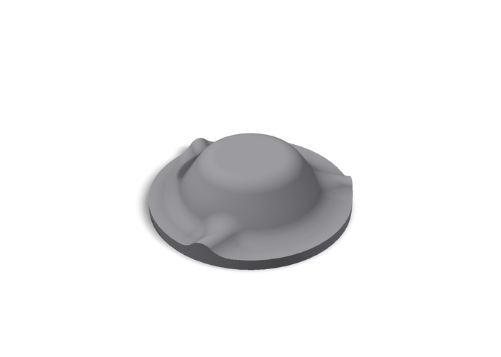 Mold for disposable ashtray 3D Print 186658