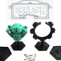 Small Breach Space Utilities 3D Printing 1867