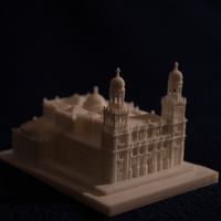 Small Jaen Cathedral 3D Printing 186700
