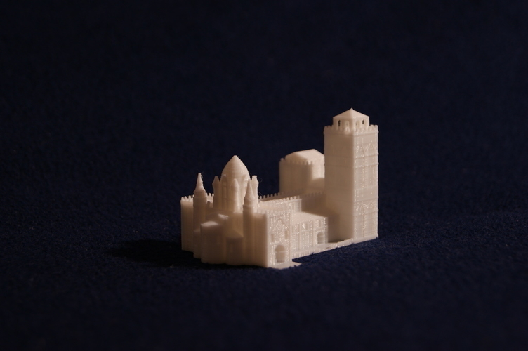 Old Slamanca's Cathedral 3D Print 186705