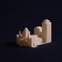 Small Old Slamanca's Cathedral 3D Printing 186705