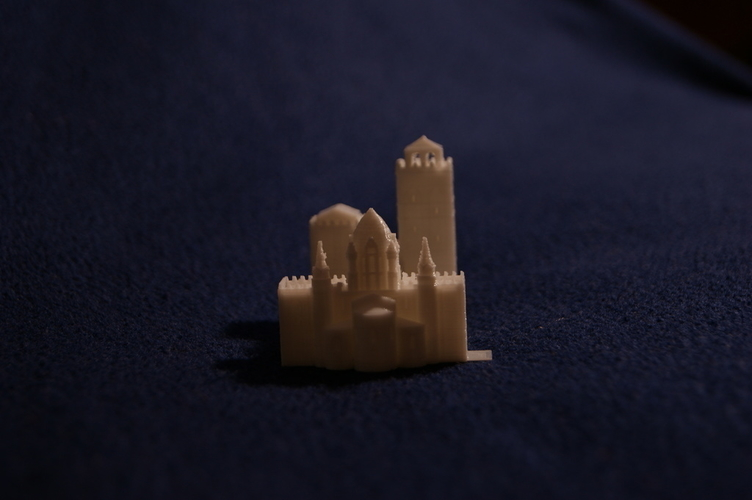 Old Slamanca's Cathedral 3D Print 186706