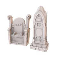 Small HG3D Noble Gravestones 3D Printing 186766