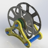Small Spool Holder Scatolin 3D Printing 186937