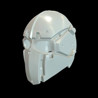Small tactical helmet 3D Printing 186962