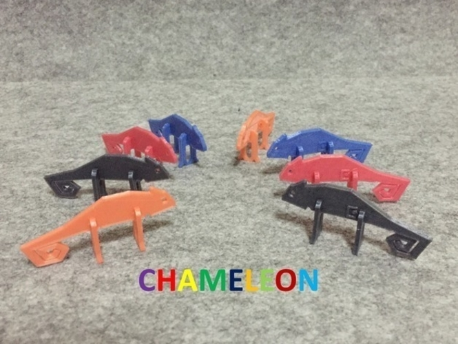 Simple Animals 16 - Chameleone 3D Print 186994