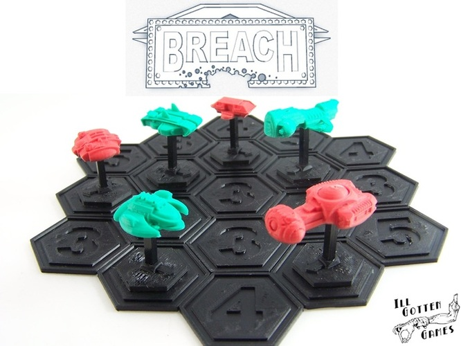 Breach Starship Duels 3D Print 1871