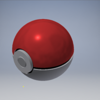 Small Functional Poké Ball  3D Printing 187293