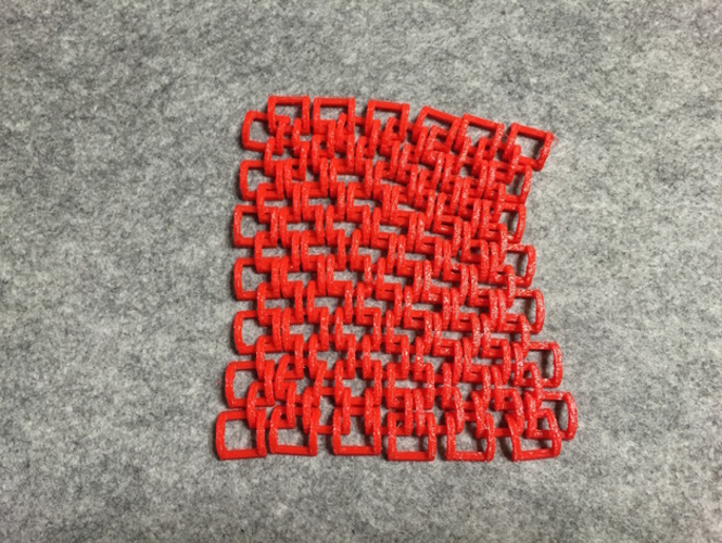 Plane of Chains 3D Print 187488
