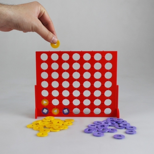 Connect 4 Visually Impaired Edition 3D Print 187525