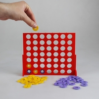 Small Connect 4 Visually Impaired Edition 3D Printing 187525