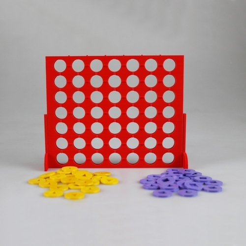Connect 4 Visually Impaired Edition 3D Print 187527