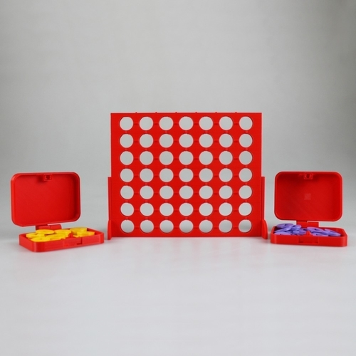 Connect 4 Visually Impaired Edition 3D Print 187529