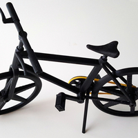 Small bicycle model 3D Printing 187541