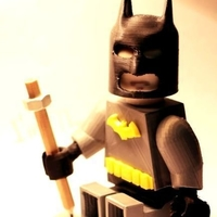 Small Lego Batman 3D Printing 187625