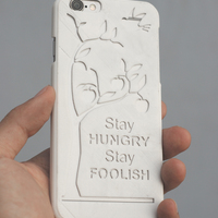 Small Steve Jobs Quote IPhone 6 Case 3D Printing 18774