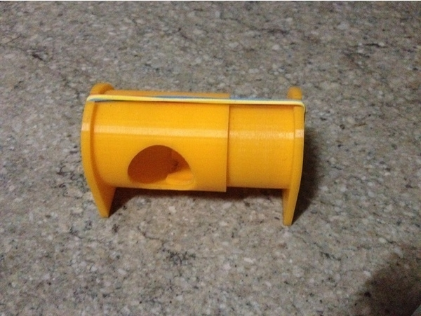 Medium Sliding Tube Mousetrap 3D Printing 187810