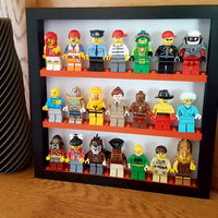 Small Lego figure photo frame shelve 3D Printing 187818