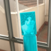 Small Cat lythophane bookmark 3D Printing 187910