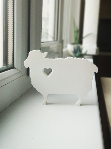Lovely curly sheep 3D Print 187919